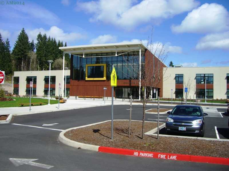The new Vernonia, Oregon school was finished in 2013.