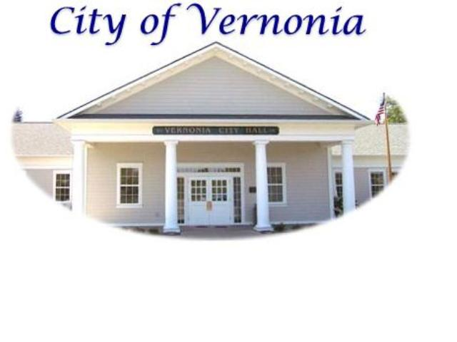 Vernonia City Hall, located high in the Oregon coast mountains.