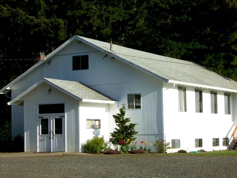The Porter Mennonite church is in the foothills just west of Estacada.