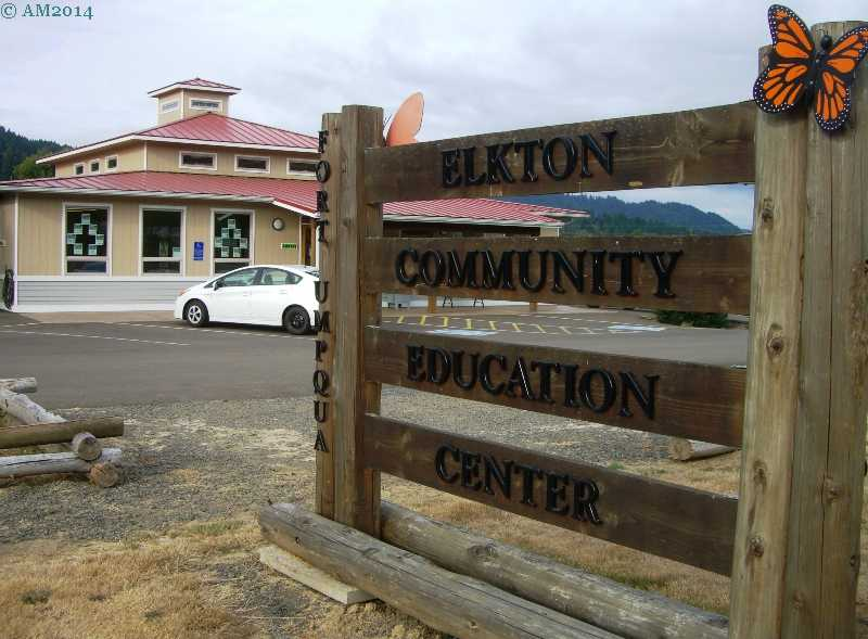 The Community Education Center in Elkton, Oregon.