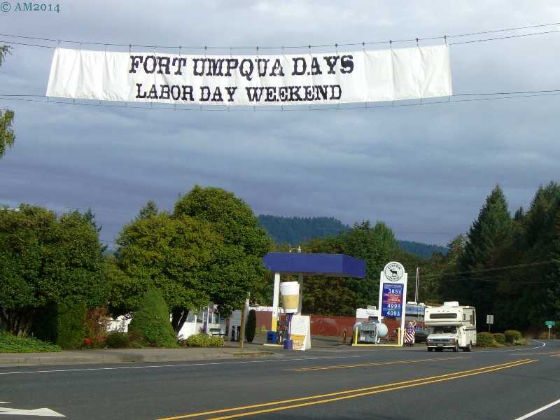 Fort Umpqua Days Labor day weekend, Elkton, Oregon.