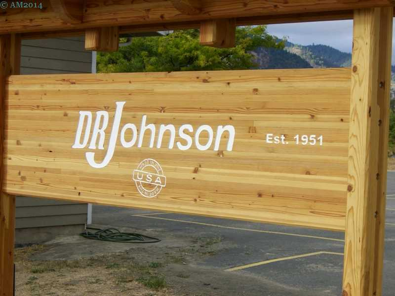 D. R. Johnson sawmill in Riddle, Oregon