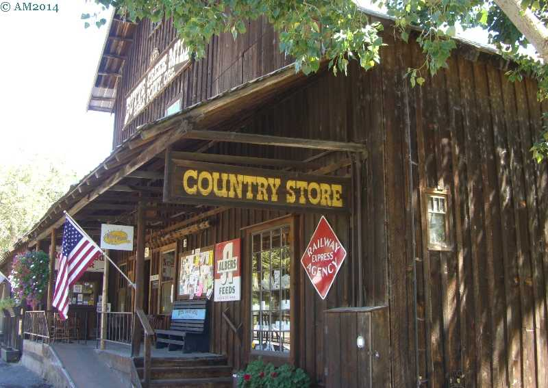 The Butte Creek mill store in Eagle Point, Oregon.