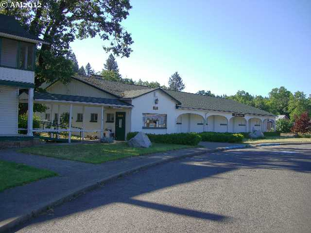 The Kerbyville museum in Kerby, Oregon.