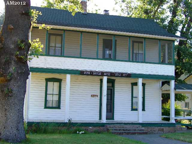 The Stith House in Kerby, Oregon.