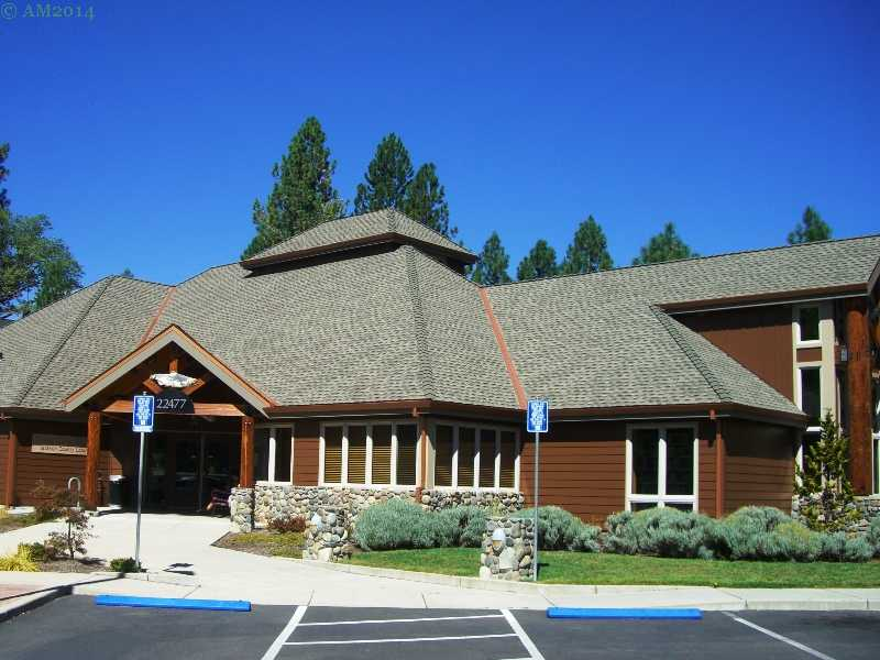 The new public library in Shady Cove, Oregon.