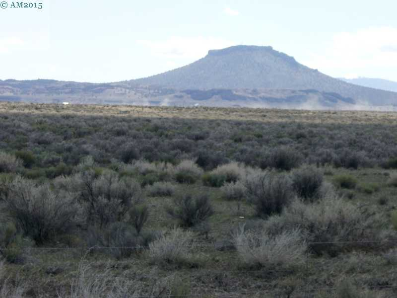 A lava butte near Christmas Valley, Oregon.