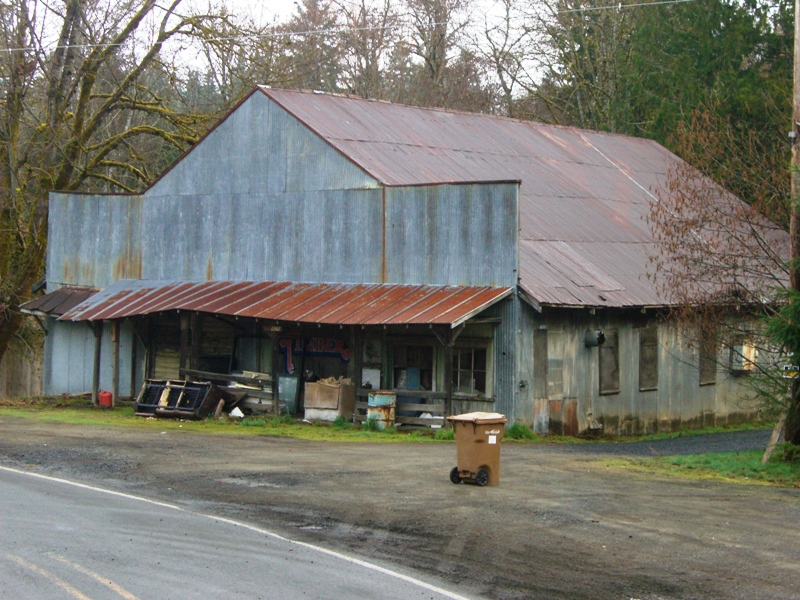 The general store in Timber, Oregon is now closed.