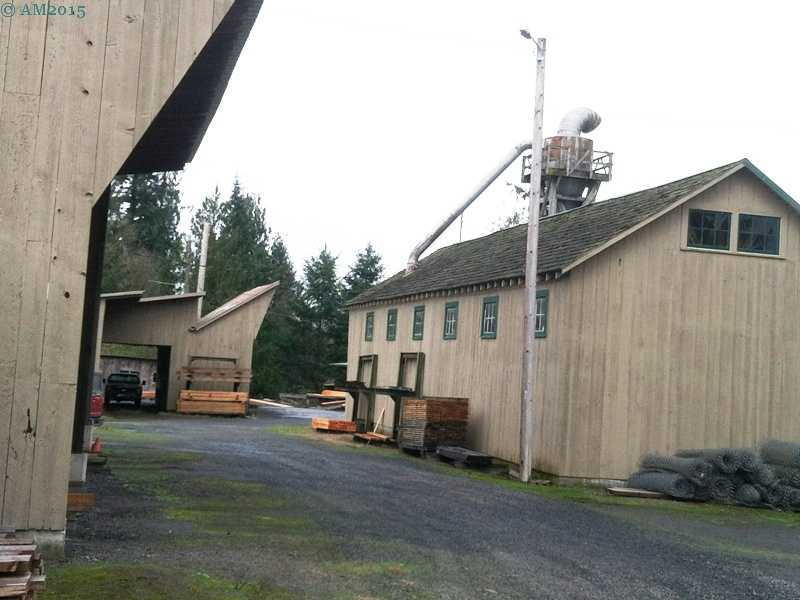 The Yoder saw mill in Yoder, Oregon.