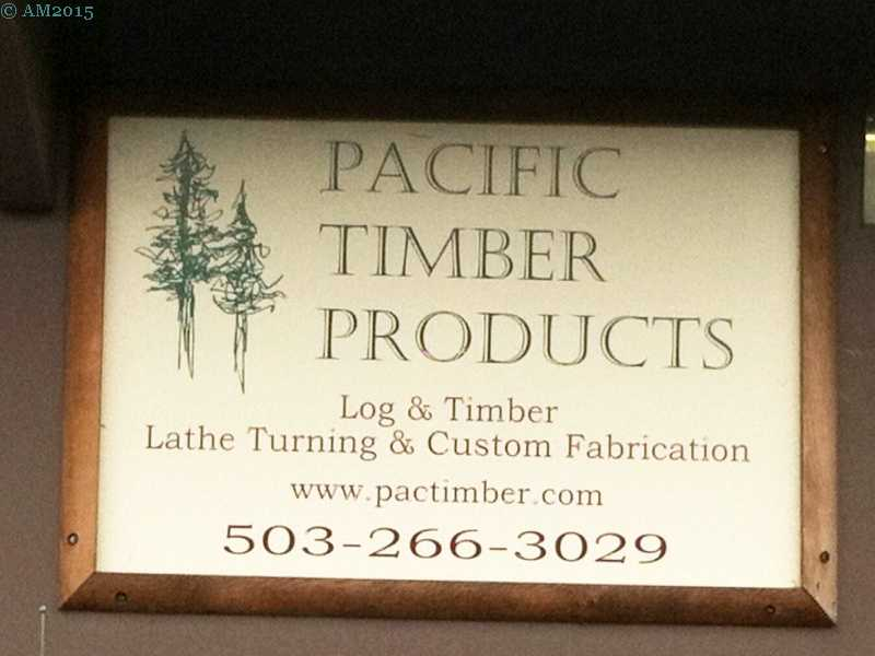 Pacific Timber near Yoder, Oregon.