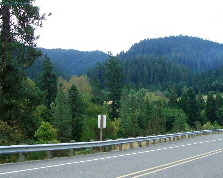 A mountainous vista near Milo, Oregon.
