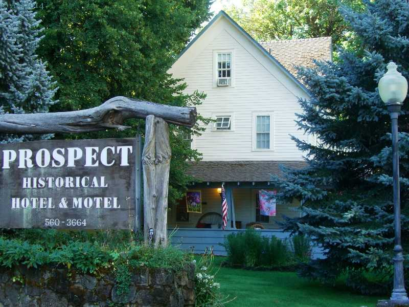 The Prospect, Oregon Hotel is a National Register site.
