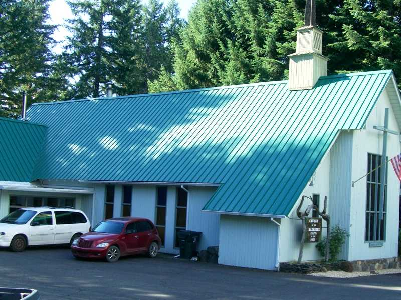 The Nazarene church in Prospect, Oregon.