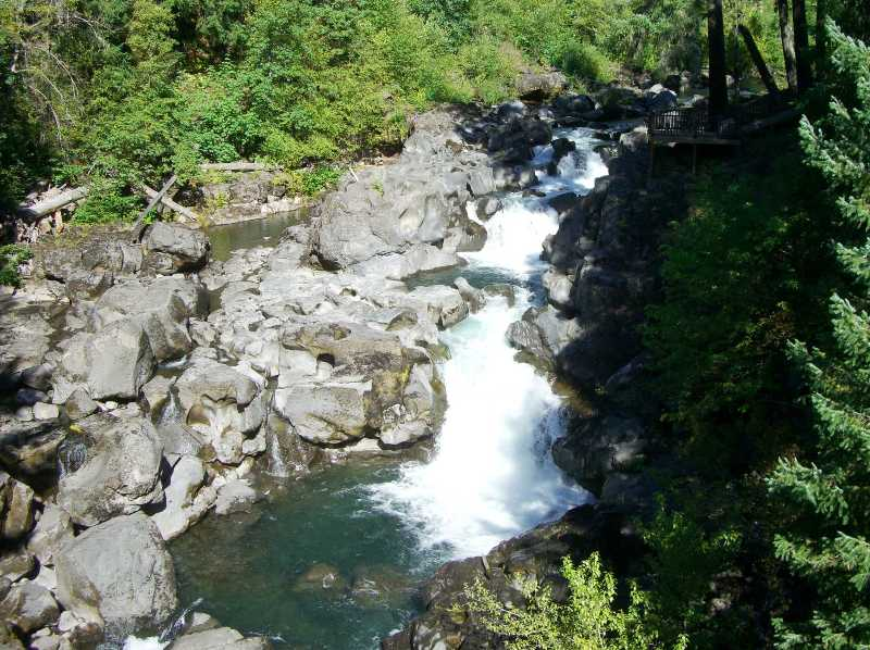 The upper Rogue River near Prospect, Oregon