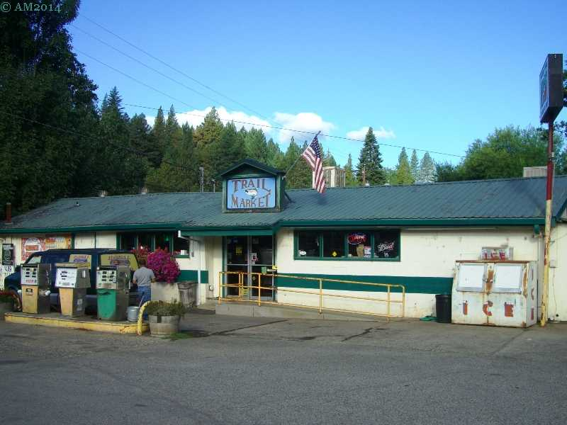 The Trail Market at Trail, Oregon