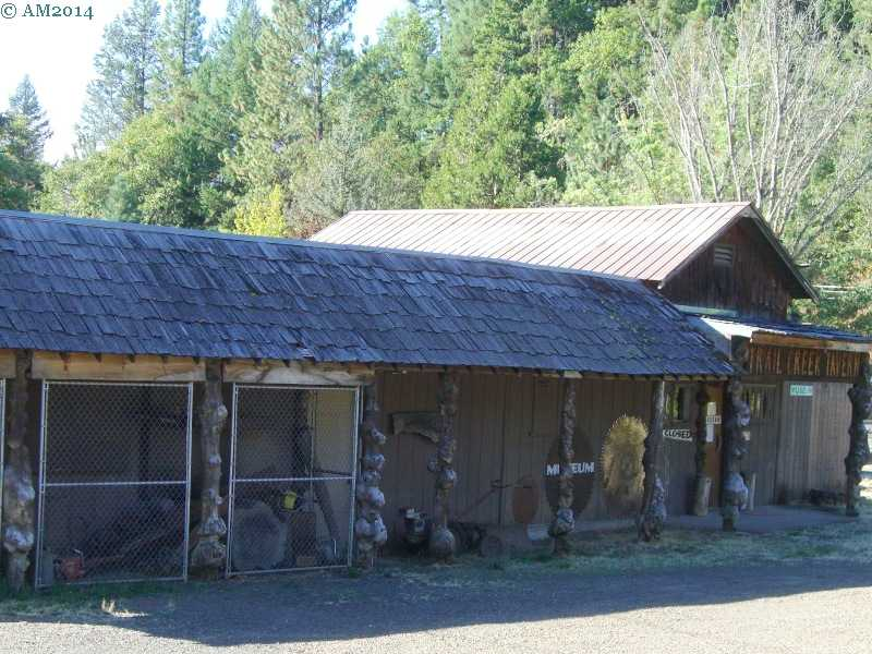 The Trail Museum at Trail, Oregon